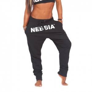 Bilde av Nebbia Drop Crotch Pants 274 Black -