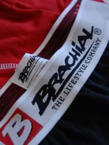"""Bilde av Brachial Boxer Short """"Under"""" Red & Black -"""