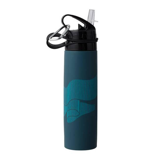 Drikkeflaske sammenleggbar Nordlys - TILBUD