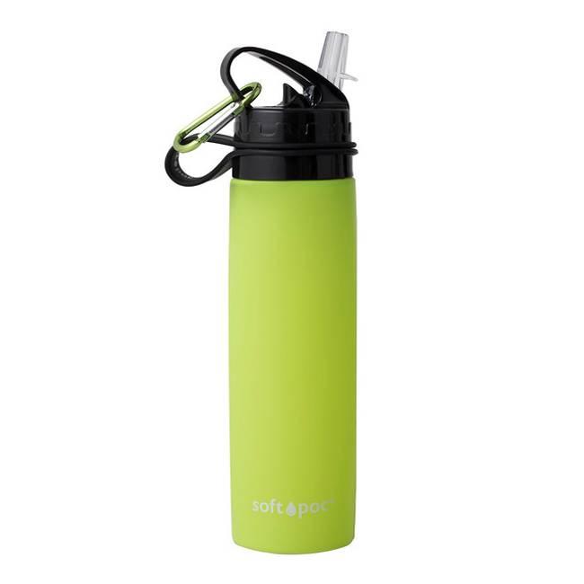 SoftPoc sammenleggbar drikkeflaske grønn