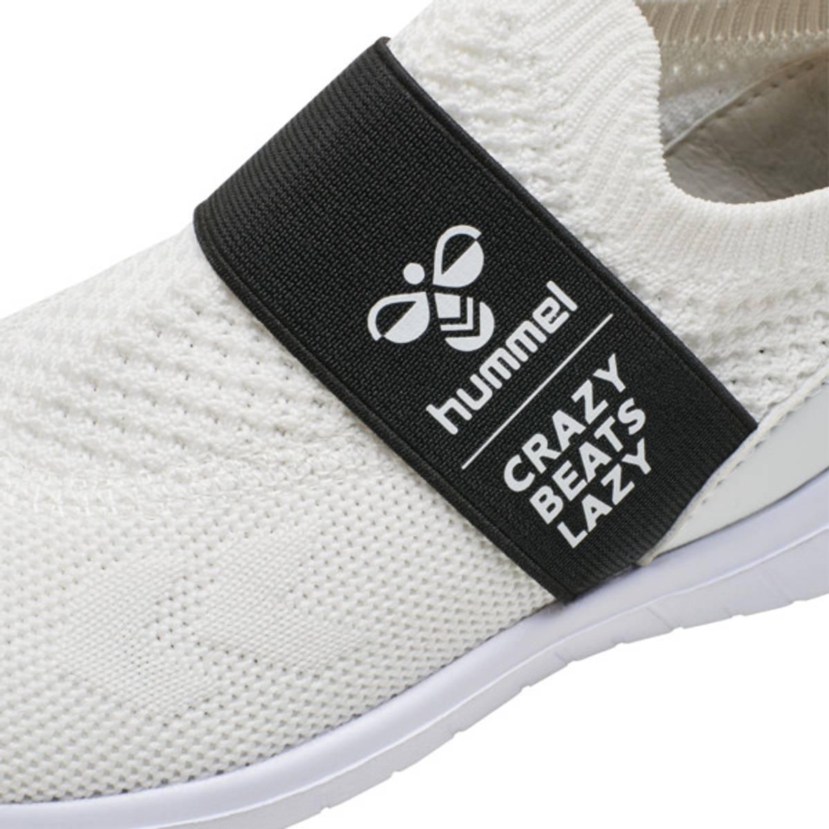 Hvit Hummel Slip-On Recycle Sko