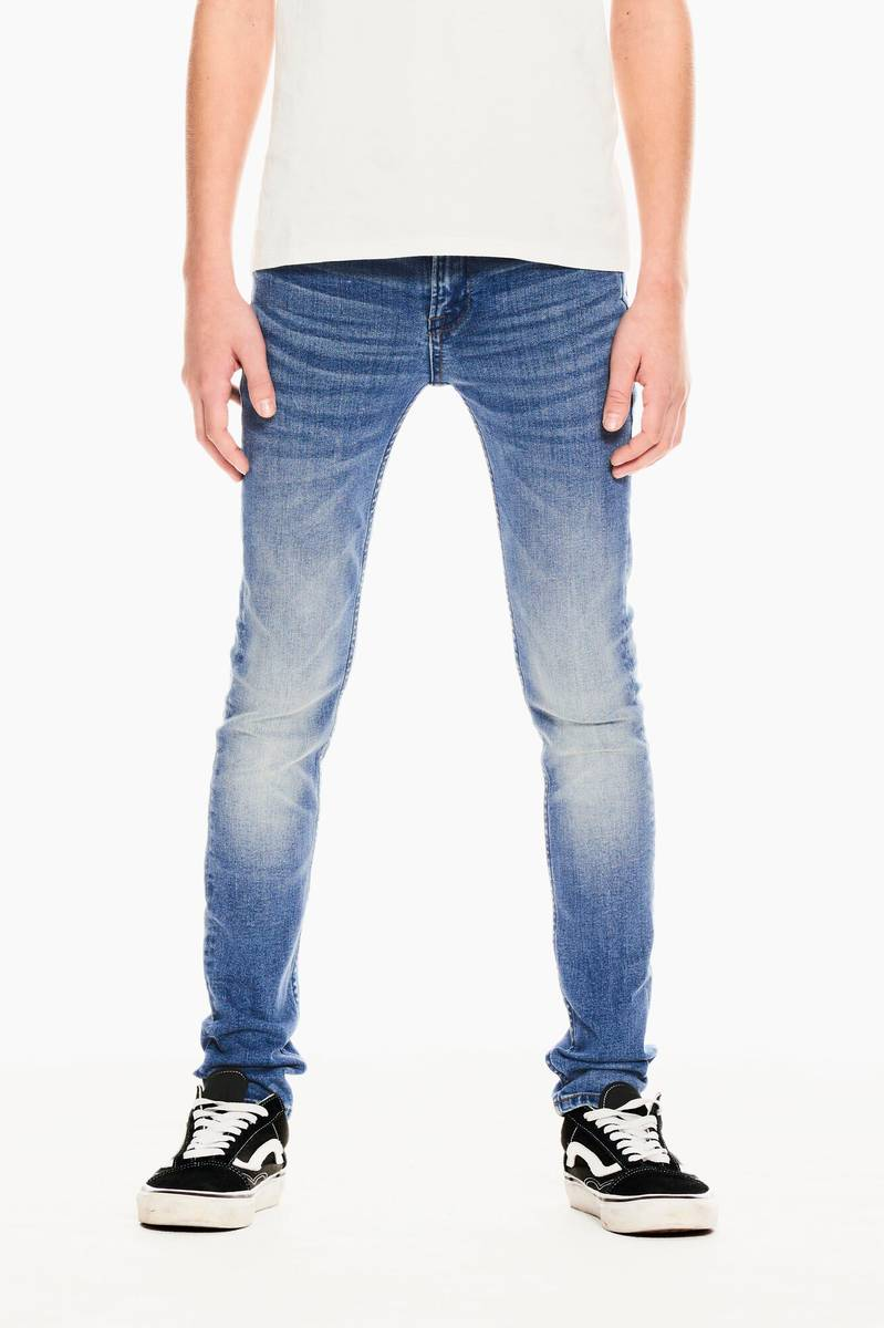 Blå Denim Garcia Xandro Jeans