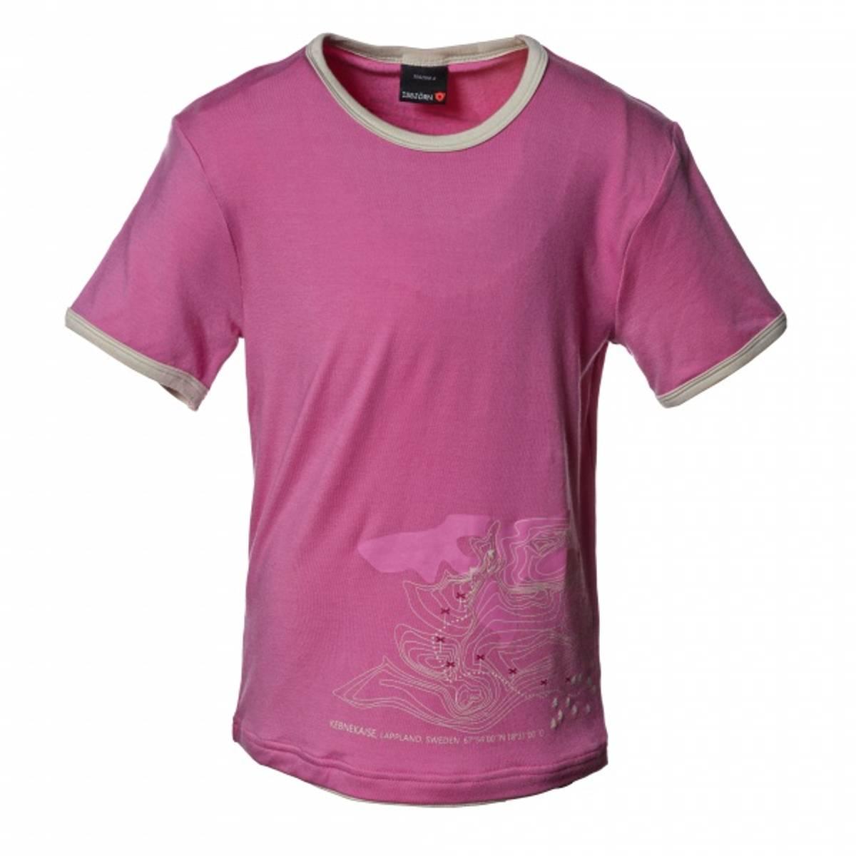 Isbjörn Mountain tskjorte - rosa