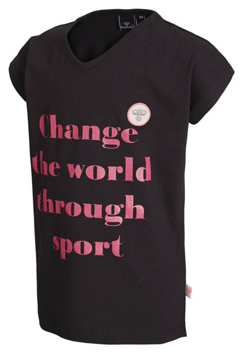 T-shirt Hummel Zana 08405 Dark Grey