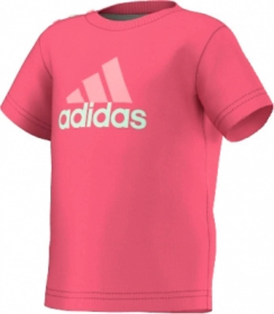 Adidas LS Tee tskjorte - rosa