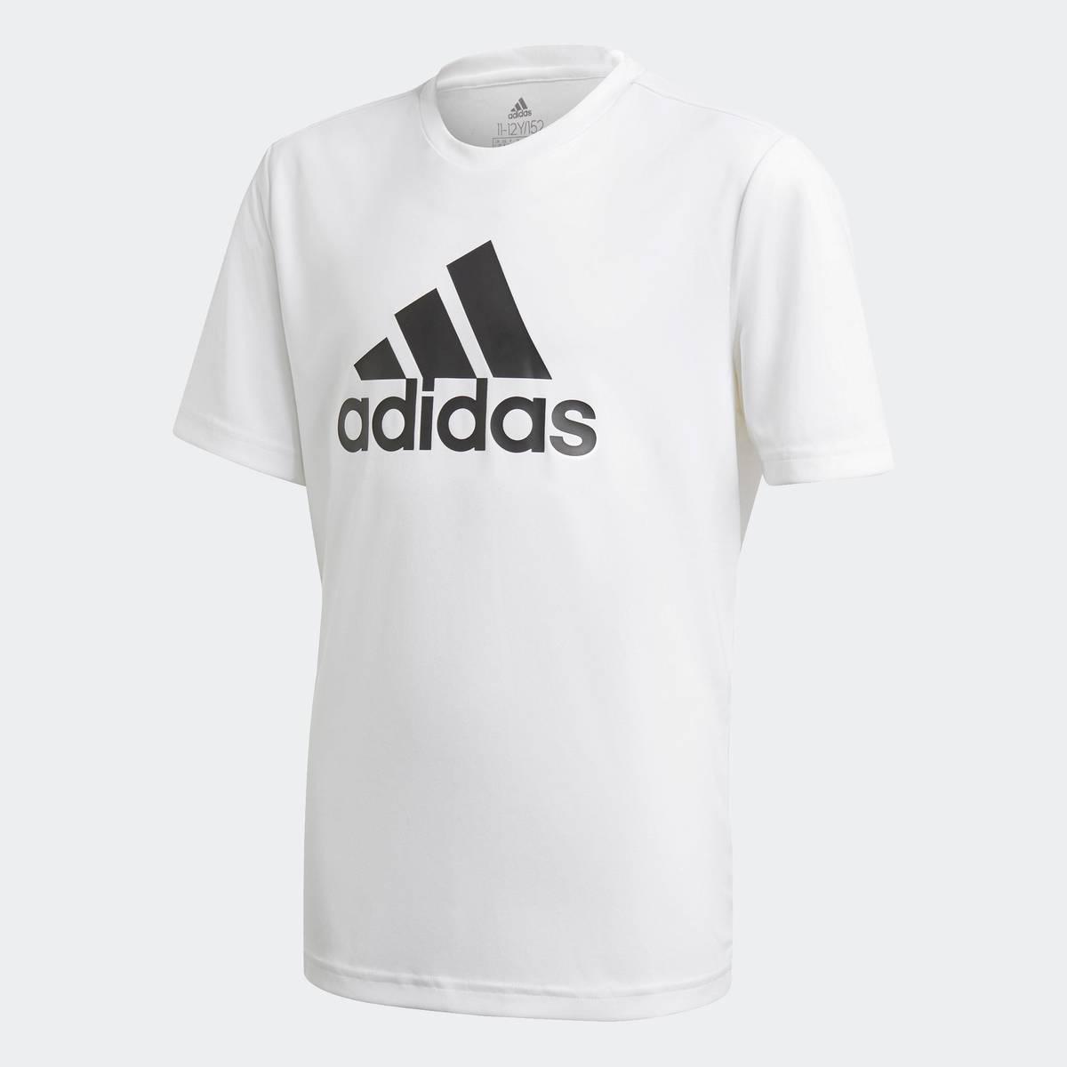Adidas B BL T  Hvit Tskjorte