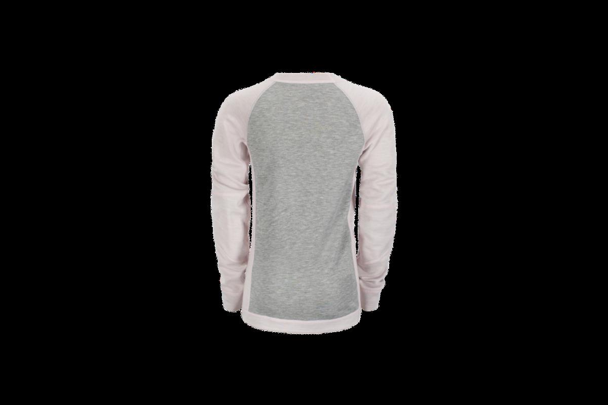Grå og rosa Bambull Switch genser