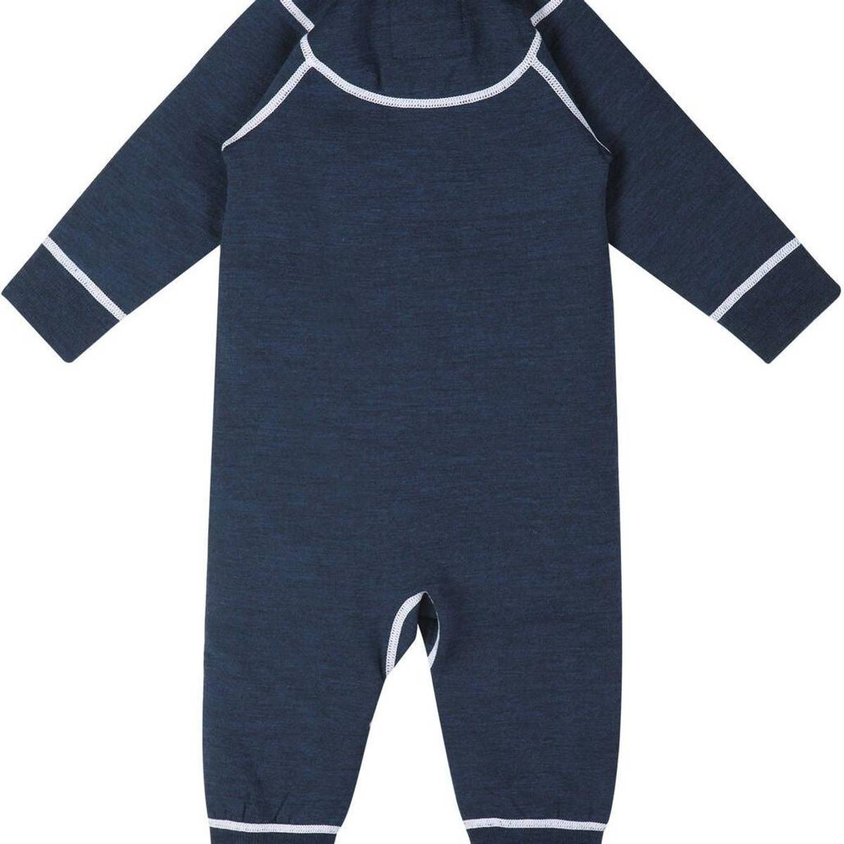 Blå Reima Lauha Ulldress baby