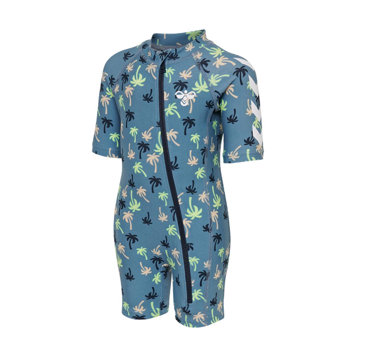 Blå Mønstrete Hummel Beach Swimsuit