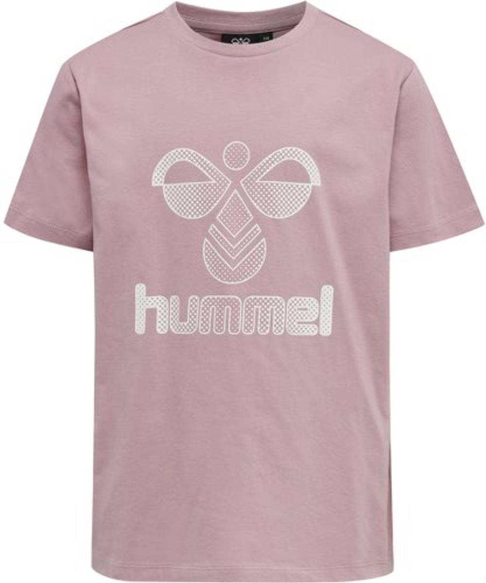 Lys Rosa Hummel Proud T-skjorte S/S