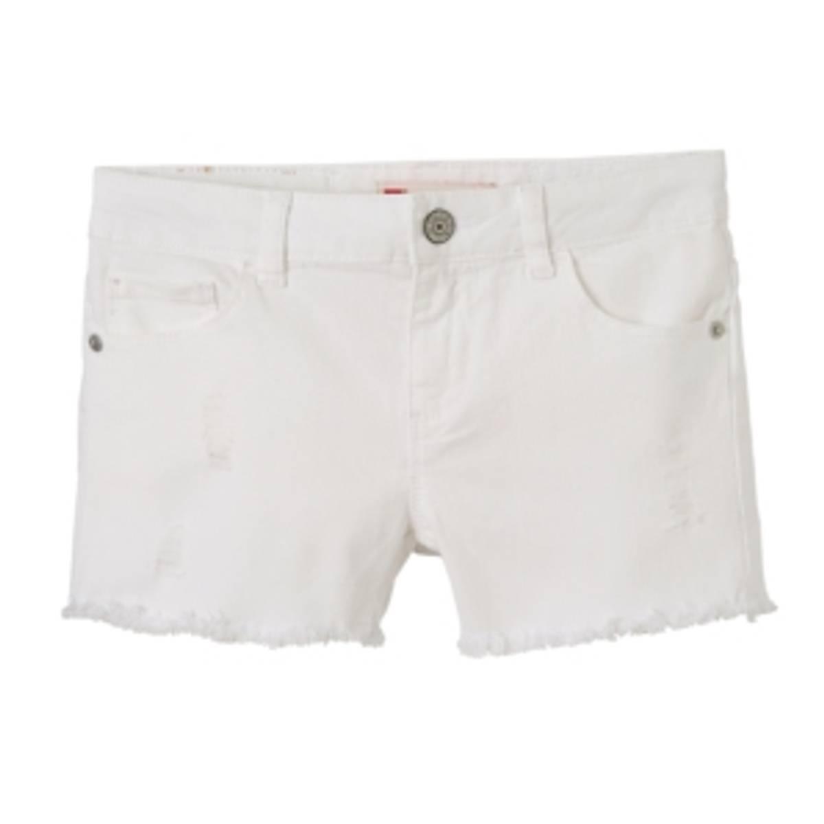 Hvit Levis Mardi shorts