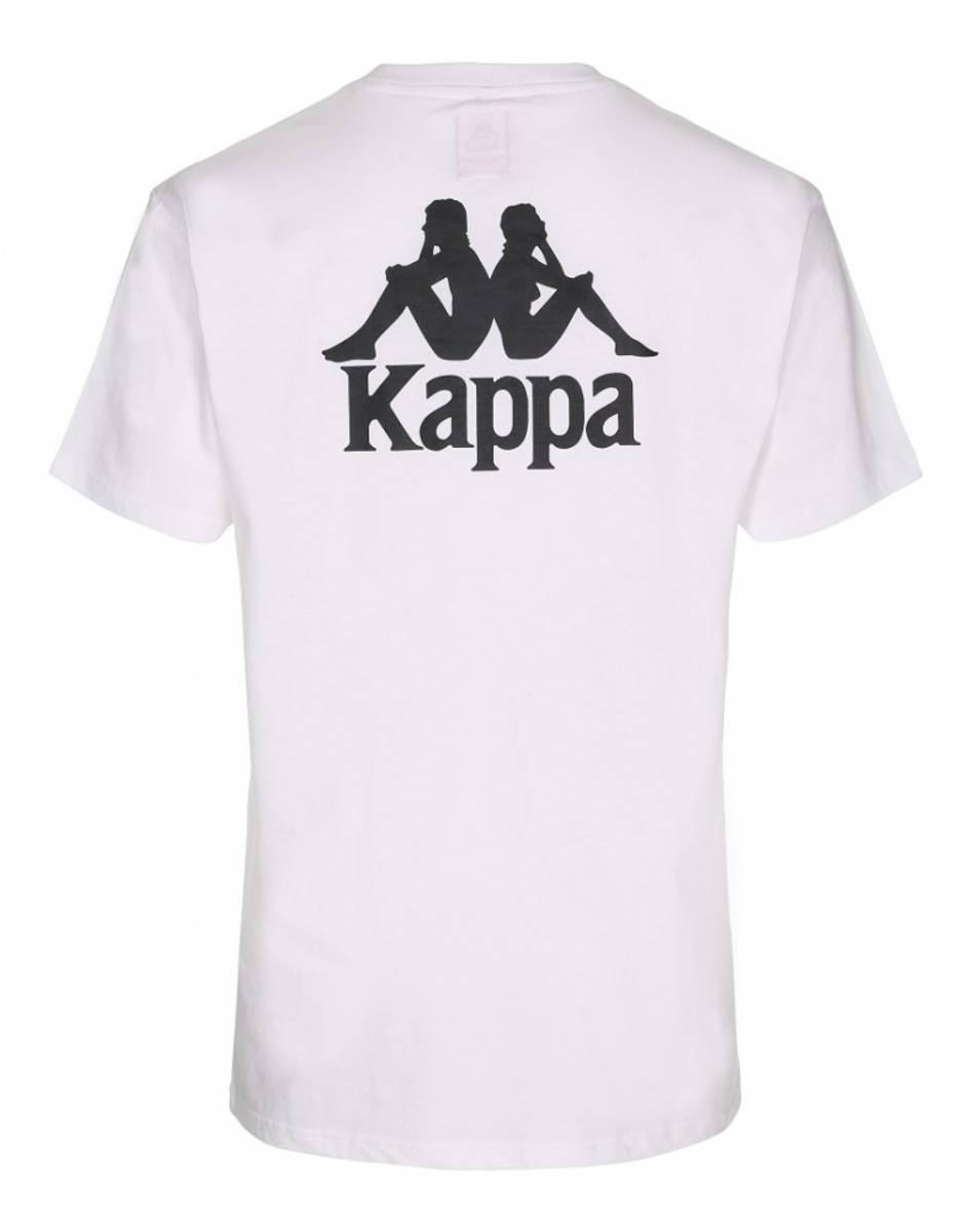 Hvit Kappa T-skjorte