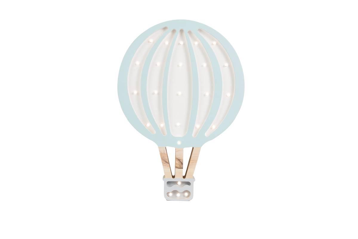 Little Lights Lampe Luftballong Lys Blå