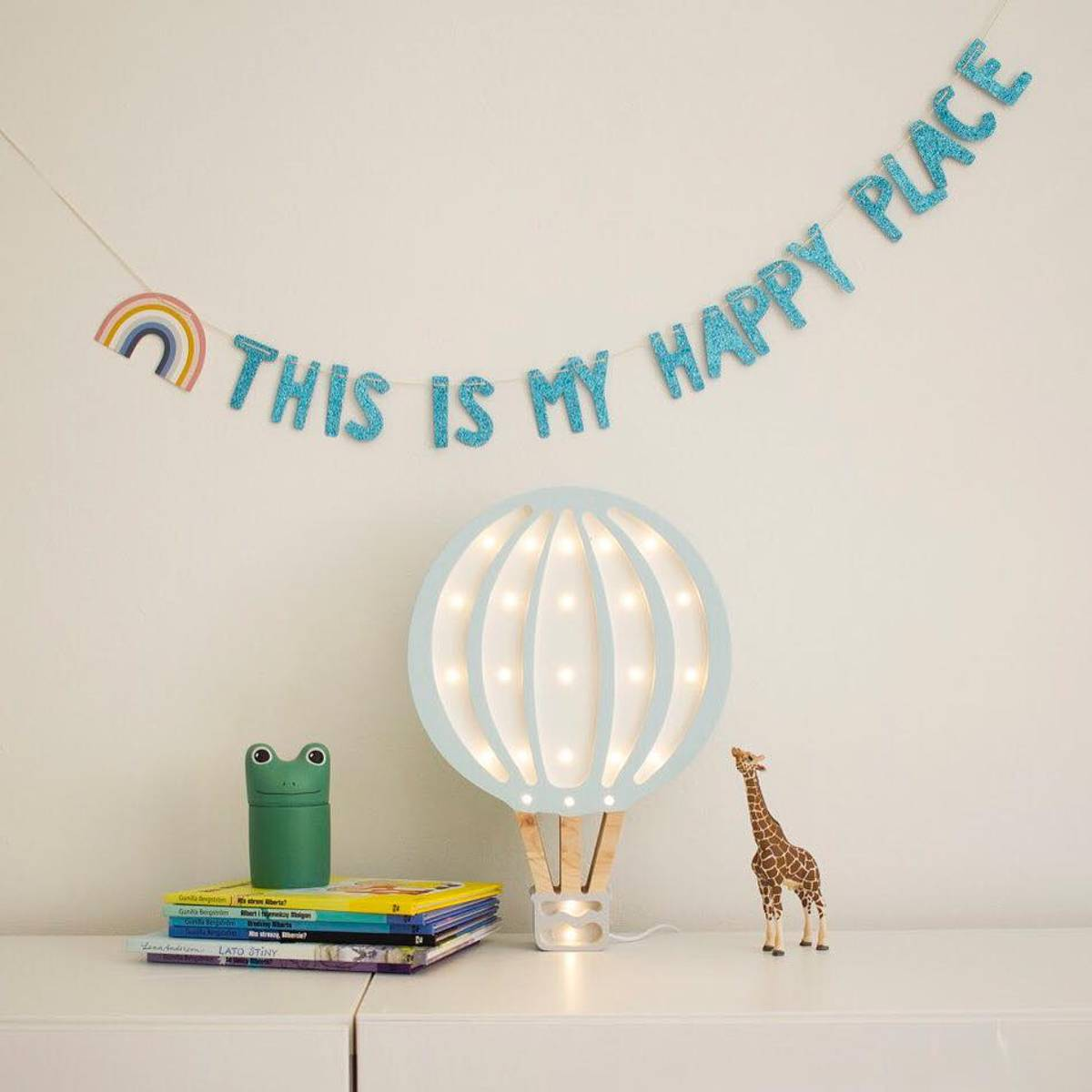 Little Lights Lampe Luftballong Dus Rosa