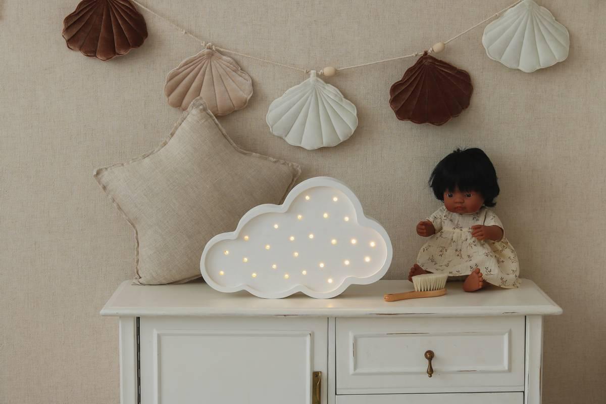 Little Lights Lampe Hvit Sky