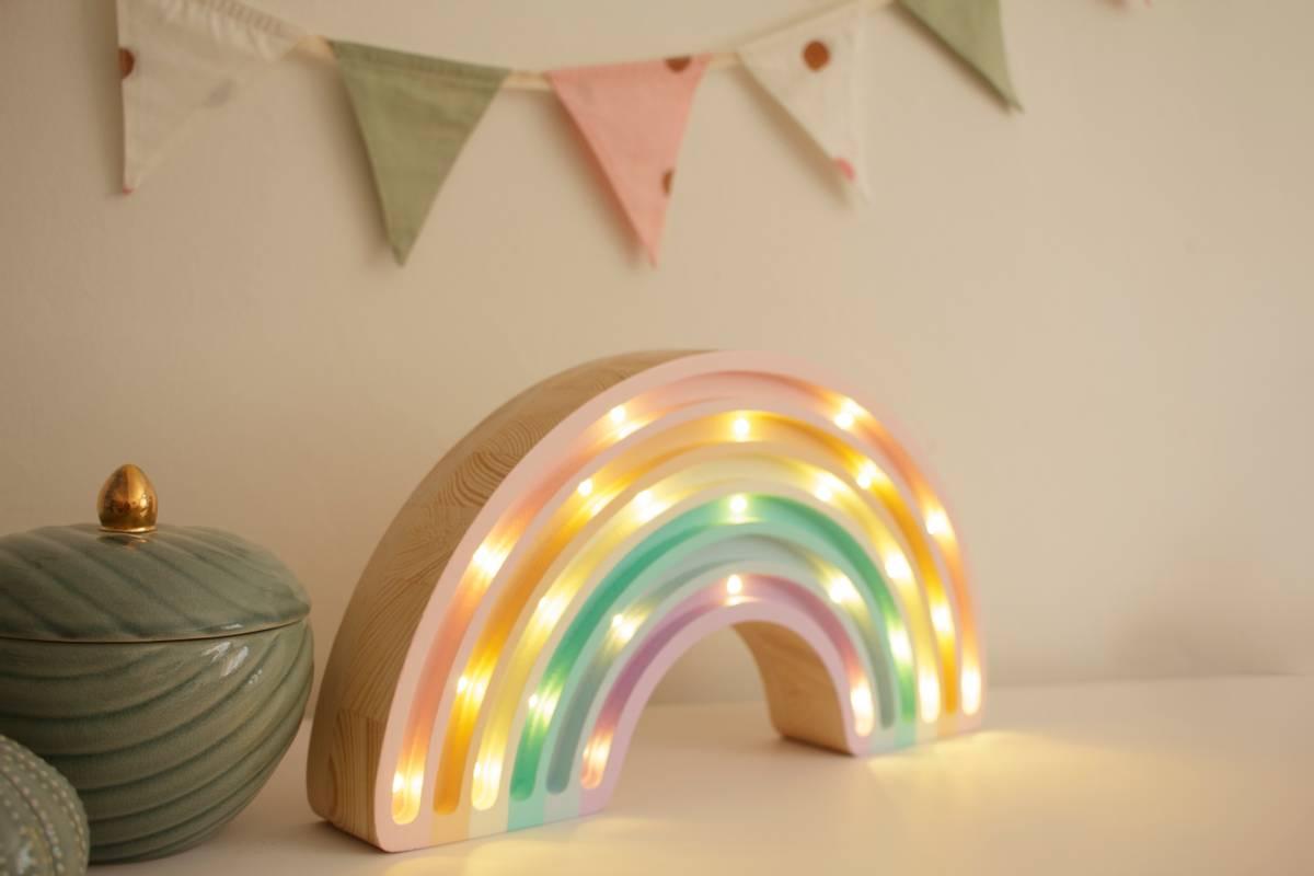 Little Lights Lampe Regnbue