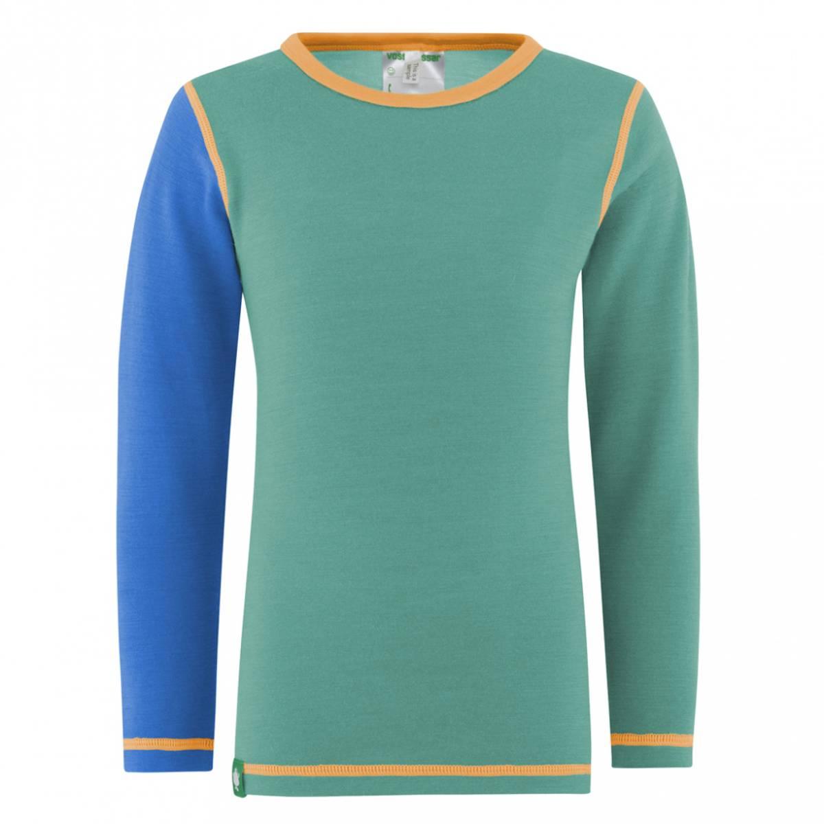 Blå/Mint Vossatassar Solid trøye
