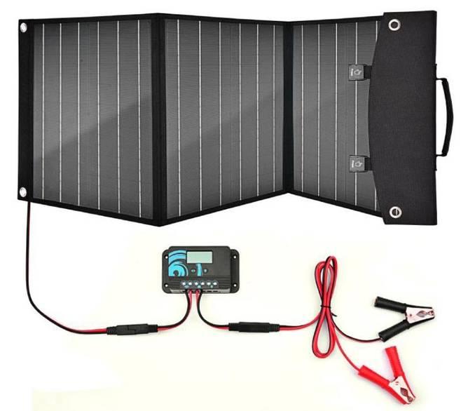 Bilde av Solcellepanel sammenleggbart