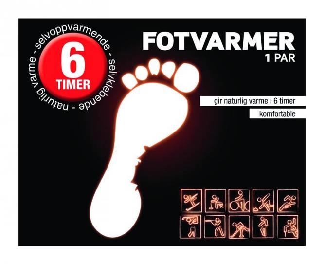 Bilde av Fotvarmer pk. à 2 stk