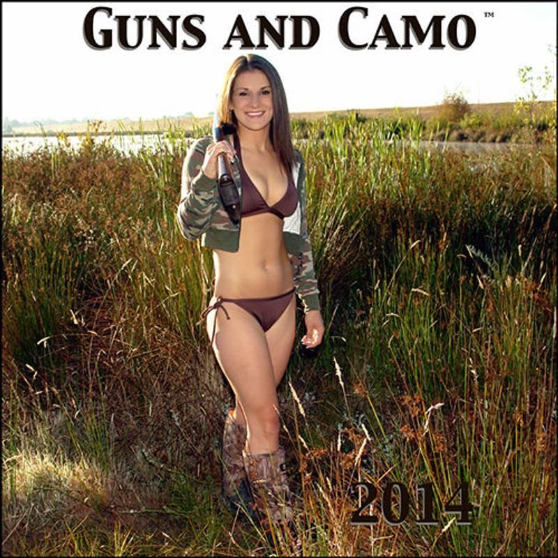 Bilde av Guns and Camo 2014 kalender