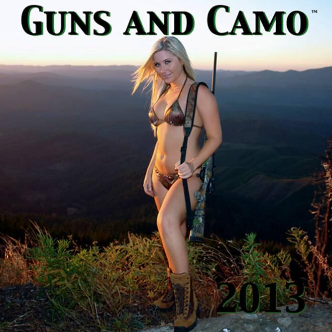 Bilde av Guns and Camo 2013 kalender
