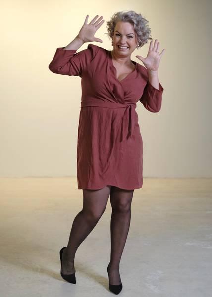 Bilde av JUST - Mattie Dress Henna