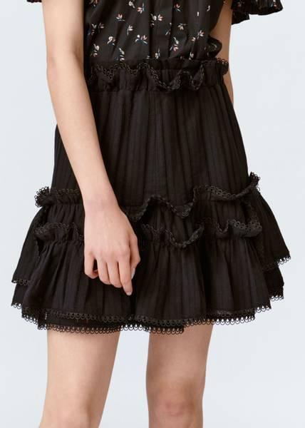 Bilde av MUNTHE - Pescara Skirt Black