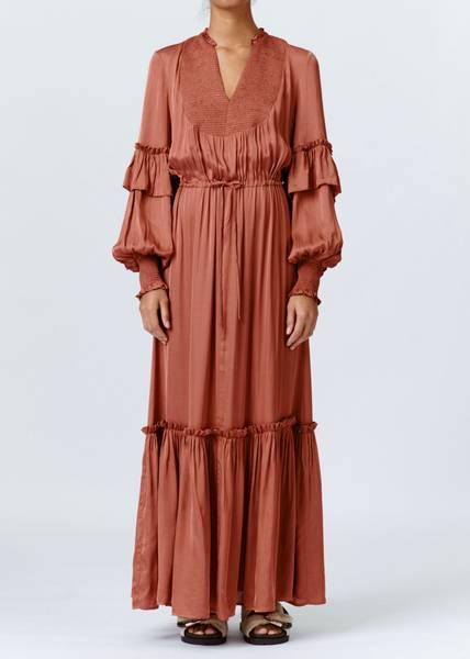 Bilde av MUNTHE - Petunia Dress Sienna