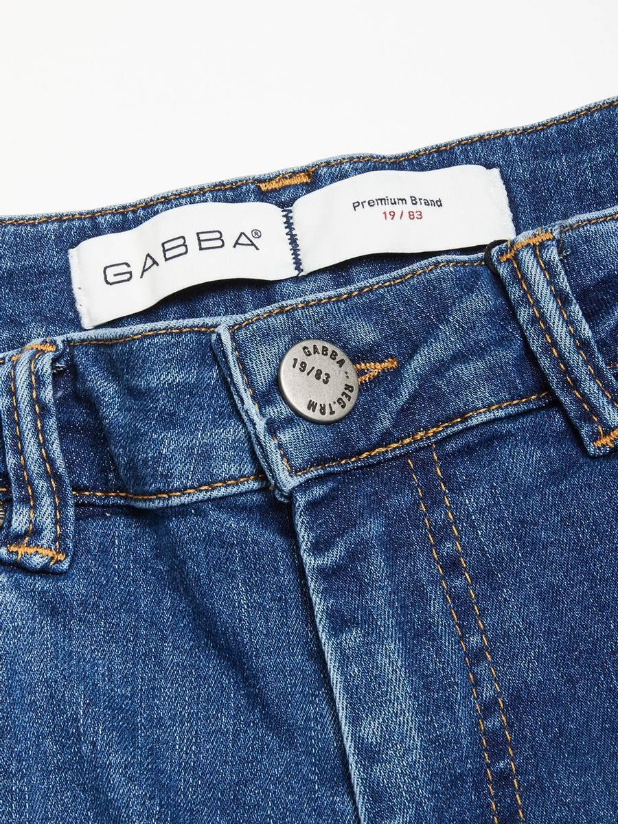 GABBA - Jones K3870 34L Medium blue Jeans RS1348