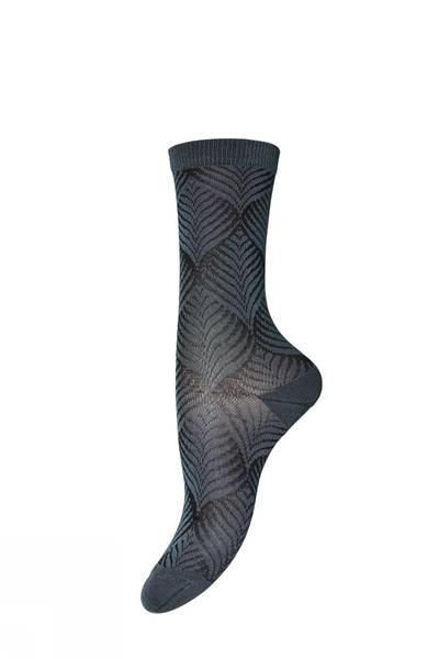 Bilde av MP - Ankle Leaf Sock Blue
