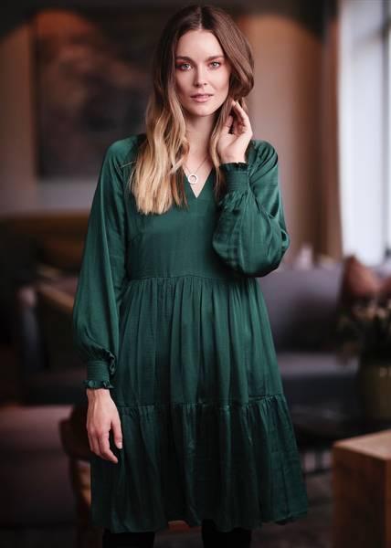 Bilde av RICCOVERO - Tess Dress Green