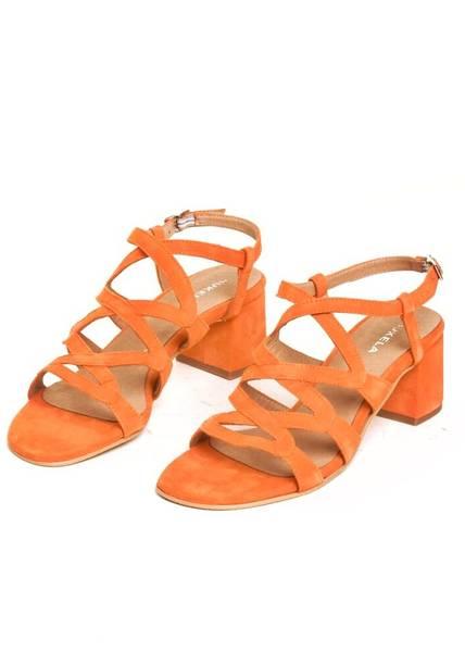 Bilde av BUKELA - Lulu Sandal Orange