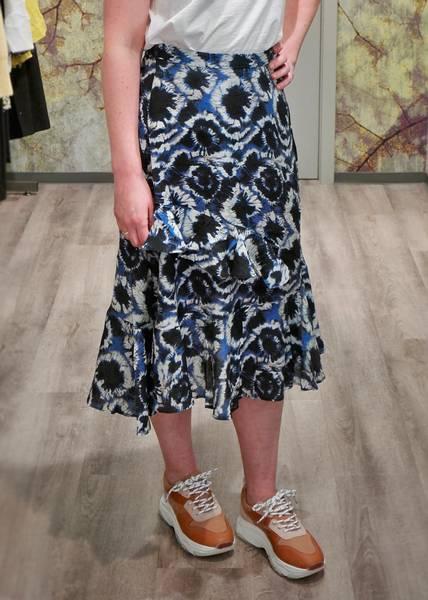 Bilde av MUNTHE - Move Skirt Blue
