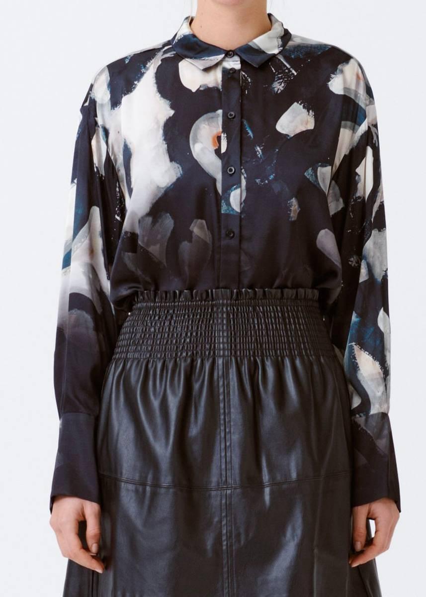 MUNTHE - Railway Shirt Black