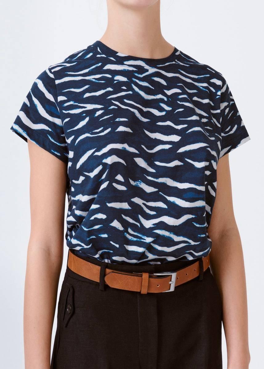 MUNTHE - Ranger T-shirt Navy