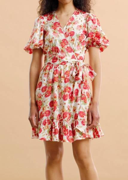 Bilde av BYTIMO - Delicate Wrap Dress