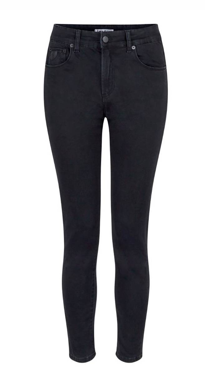 LOIS - Celia Cropped Jeans 34 Jossie Night Black Stone