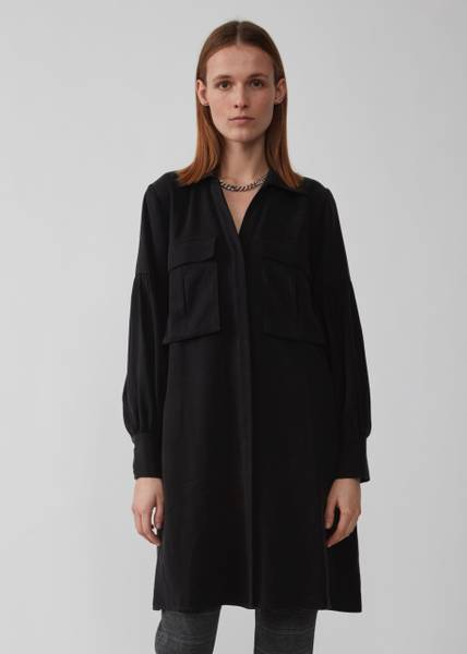 Bilde av JUST - Diaz Shirt Dress Black