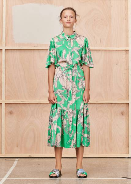 Bilde av MUNTHE - Tanta Dress Green