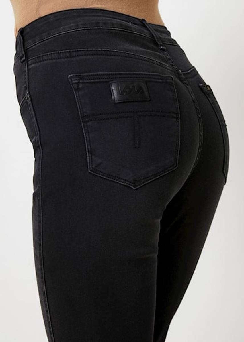 LOIS - Malena F Straight 32 Jeans Jossie Night Black Stone
