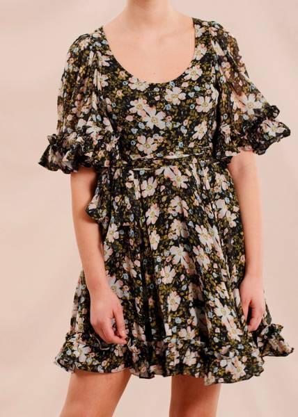 Bilde av BYTIMO - Georgette Mini Dress