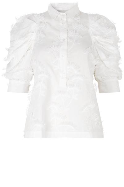 Bilde av MUNTHE - Temple Shirt White
