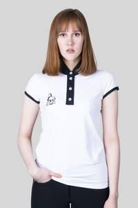 Bilde av Stevneskjorte, sort/hvit