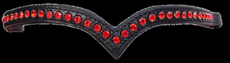 Pannereim med røde krystaller