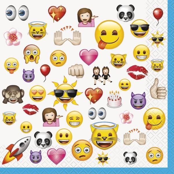 Servietter Emoji 16-pk