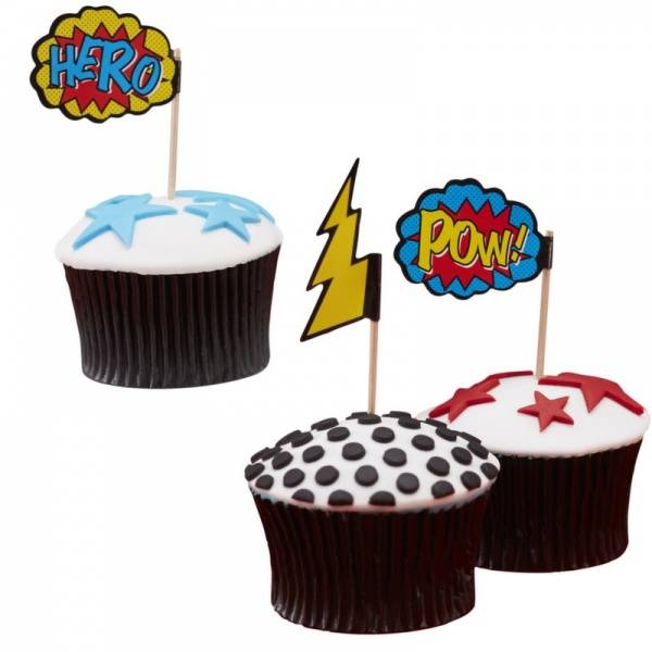 Cupcake-stikker