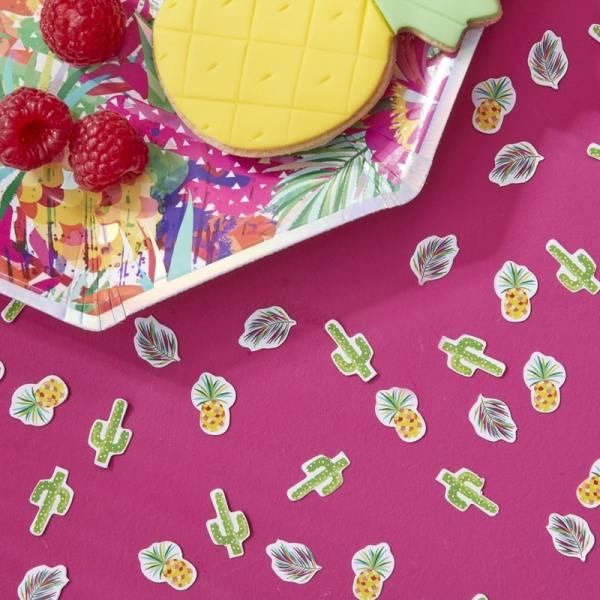 Tropical konfetti
