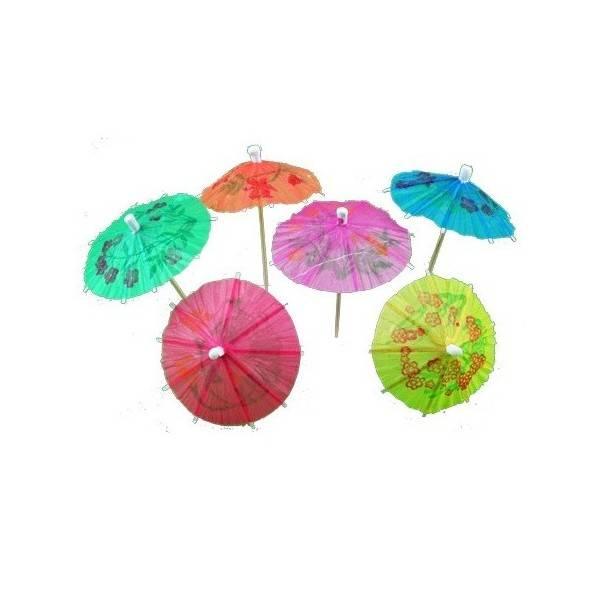 Paraply til drinken 10-pk