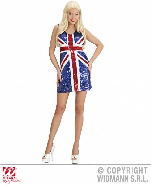 """Paljettkjole """"Miss UK"""""""