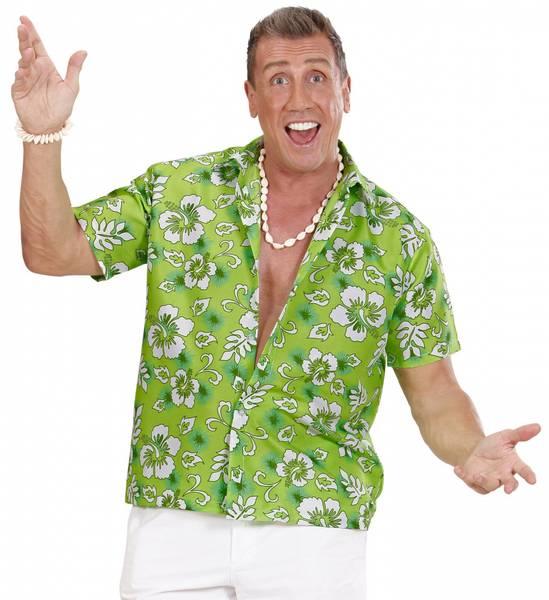 Hawaiiskjorte, grønn